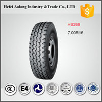 HS268 Promotional Cheap TBR Radial Truck Tires 700-16