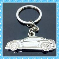 Car Shape Metal Car Keychain Customized Car Metal Keychain keychain maker