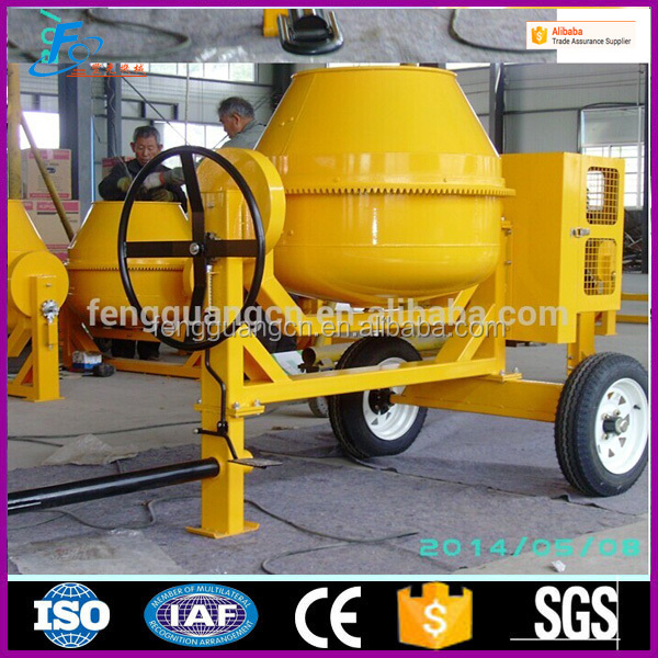 350L High quality constructon machine price mini diesel mortar portable mobile <strong>concrete</strong> mixer
