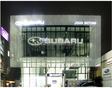Fashion hotsell JEKAZ glass window led display sign for window or glass building transparent