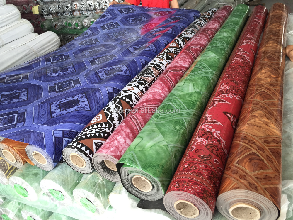 Best factory price floor/ waterproof pvc vinyl flooring mat roll