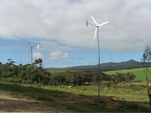 1KW small wind-solar hybrid wind turbine for home use