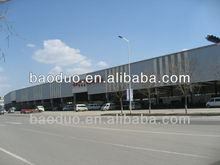 ISO9001 Light steel structure car parking shed