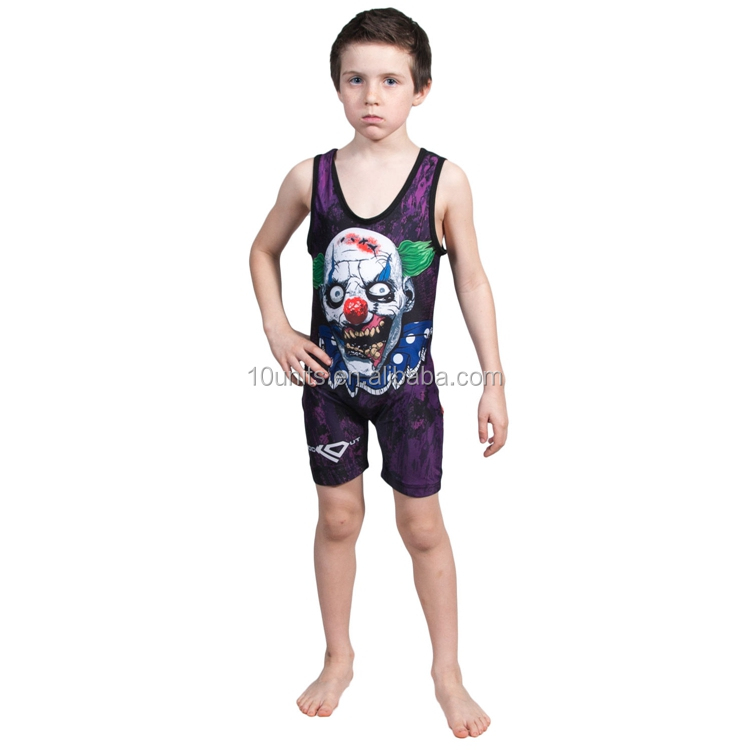 Custom youth wrestling singlets wholesale