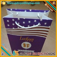 High quality paper food bag for fried chicken donut