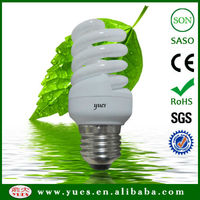 High lumen 12mm Full Spiral CFL 18W/20W/23W/26W/30W
