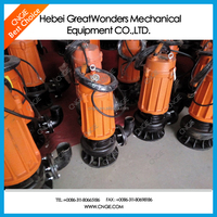 Dredger used bottom suction submersible pumps