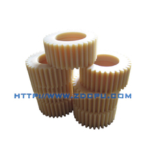 CNC machining water proof auto parts POM plastic gears