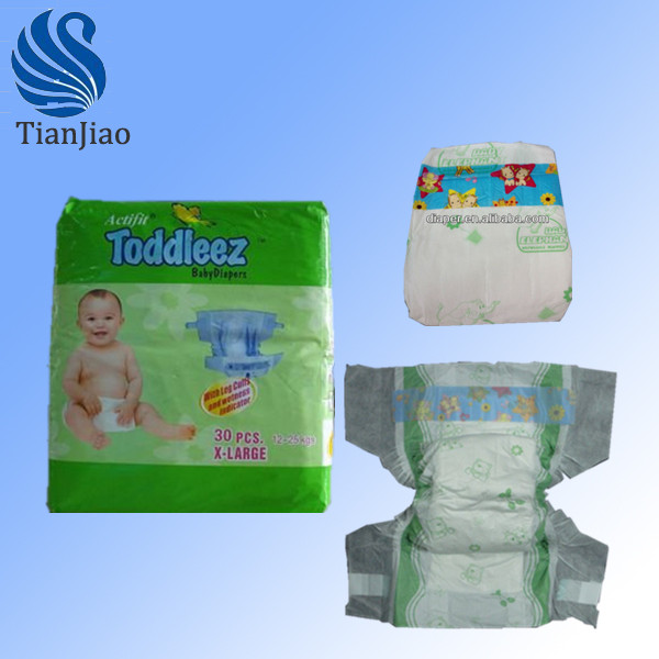 2014 economical wholesale cotton sleepy baby diapers export to Malaysia, Philippines