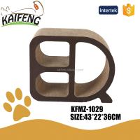KFMZ-1029 NEW DESIGN bunk cat playhouse cardboard cat scratcher toys