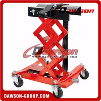 Hydraulic low position scissors transmission jack
