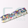 Beautiful Newest Fashion Design Lady Durable Crystal Glass Nail File