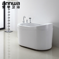 wholesale 1200mm small sizes freestanding acrylic bathtub
