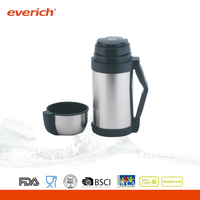 Double Wall Stainless Steel Vacuum Flask Keeps Drinks Hot And Cold
