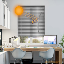 Kitchen cabinet roller shutter door aluminium venetian blinds with cheap price shutter motor
