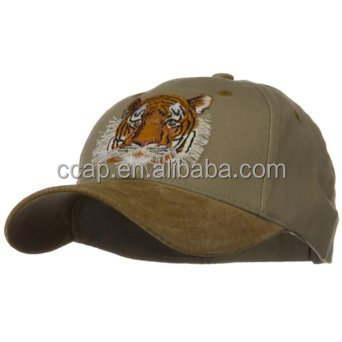 Custom suede embroidery baseball cap