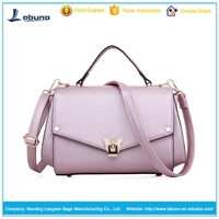 Beautiful stylish cheap fashion brands trends pu bags young ladies handbags