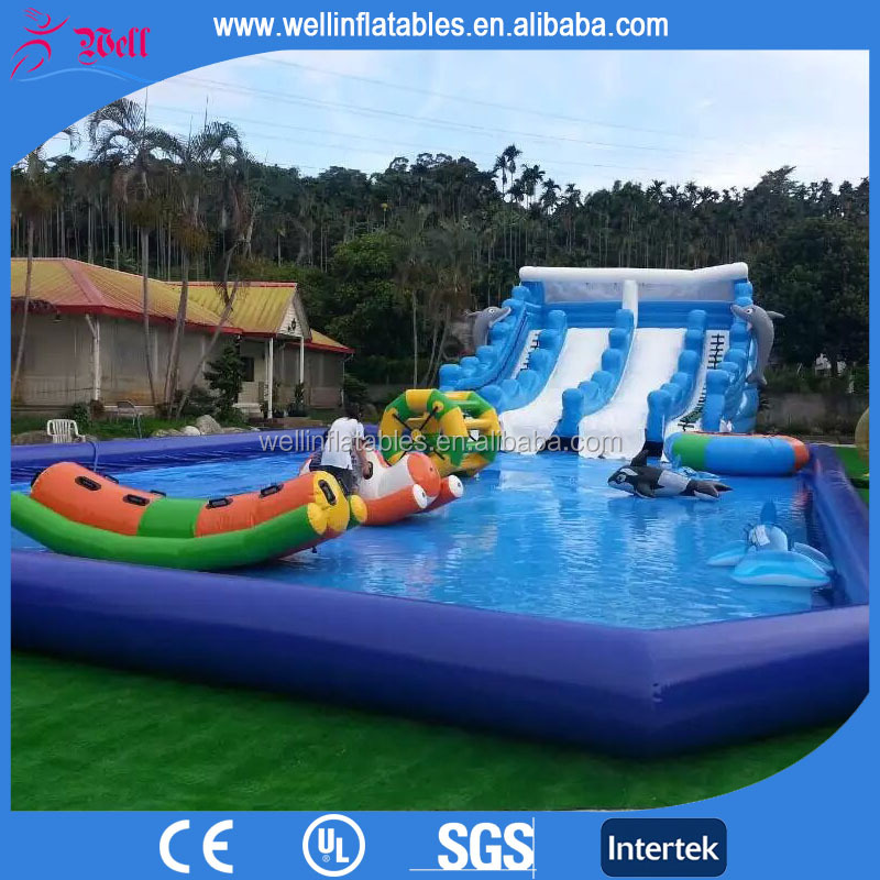 2016 new inflatable pool with slide inflatable pool for New pool designs 2016