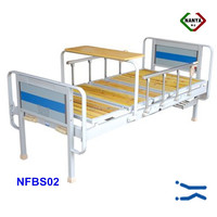 NFBS02 Two positions hospital dialysis bed , japanese flat bed