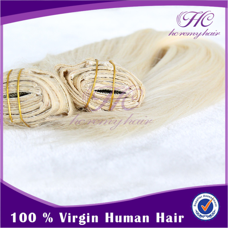 Hot Sale & High Quality Clip In Hair Russian Double Weave Hair Extensions