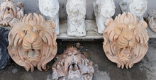 marble lion head sculpture for water fountain sculpture