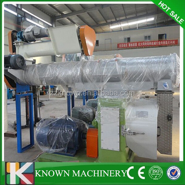 Professional ring die KN-FP250 cattle feed feed plant,small feed mill plant