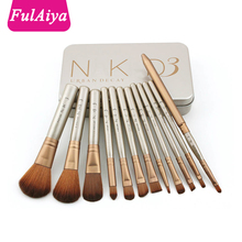 Good quality 12pcs brand naked3 makeup <strong>brush</strong> wholesale naked 3 <strong>brush</strong> set for cosmetics makeup <strong>brush</strong>