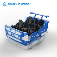 Guangzhou factory top quality 9d vr Galaxy spaceship 6 seats flying cinema 9dvr simulator