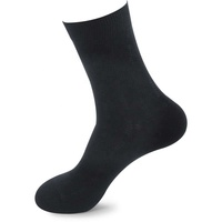 Men's bamboo fiber socks autumn and winter business casual men's 200-pin antibacterial deodorant socks men's socks
