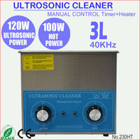 120W Ultrasound Washer Machine Ultrasonic Cleaning 3L Tank for Dental 230HT