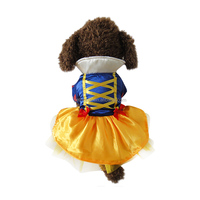 wholesale dog cat snowwhite role play clothes for pet on halloween