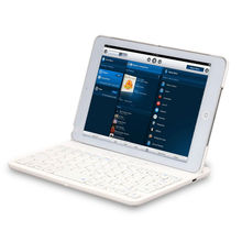 bluetooth keyboard with tensile type protective shell for ipad mini 1/2/3