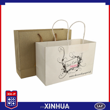 Hot selling custom design rope handle shopping gift paper bag