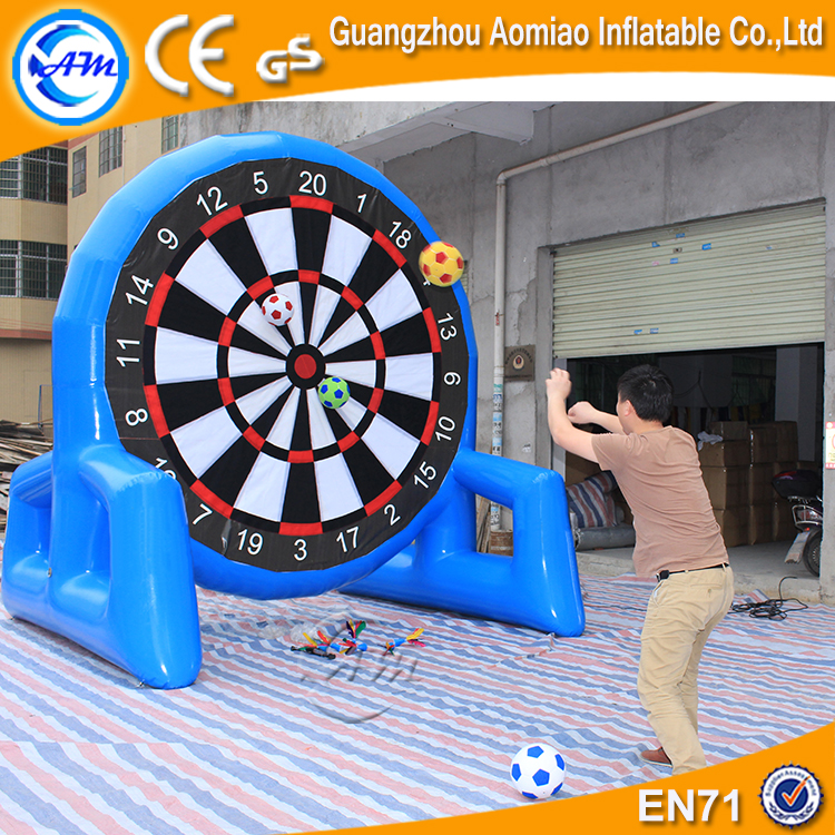 Double Side Sealed Foot Darts Board Giant Soccer Ball Dart Game with magic tape for Sale
