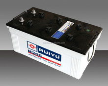 12v200AH dry charged automotive battery