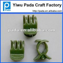green orchid plant clip