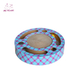 2018 hot sale round shaped good qualtity low price cat toy