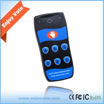 Enjoy RF217 poll systems Clickers in Conference