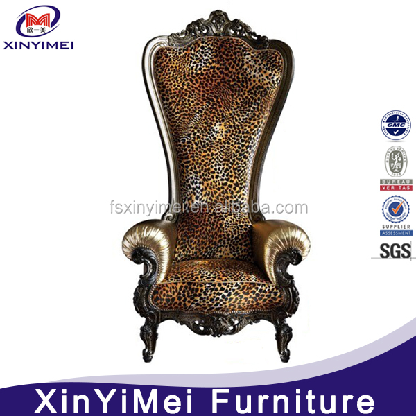 Hotel <strong>Furniture</strong> Type and Hotel Chair Specific Use Luxury High Back Chair
