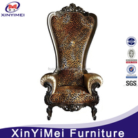 Hotel Furniture Type and Hotel Chair Specific Use Luxury High Back Chair