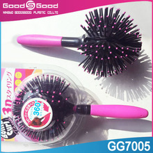 wholesale combs and brushes, switchblade comb, round plastic hair combs