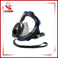 silicone full face gas mask with oxygen