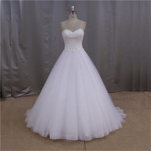 New super beaded black and white wedding dress 2012