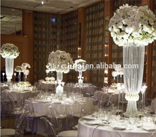80cm tall flower stand designs for weddings , arylic flower stand for wedding walkway