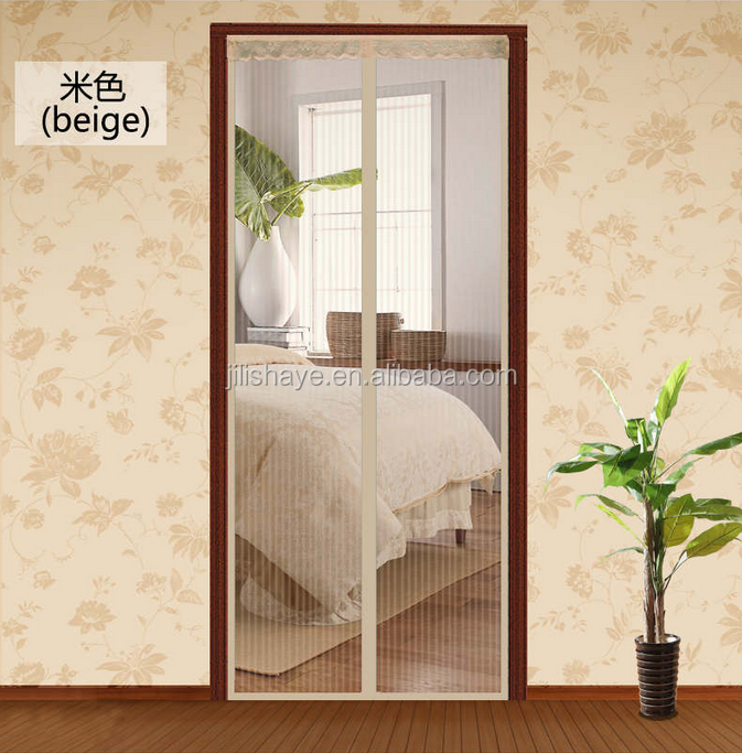 Creative Mosquitoes Resistance Magnetic Screen door for Anti Insects welcomed by Southeast Asia