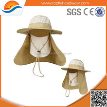 neck shade flap hat cap wholesale blank ear cover cap bucket hat