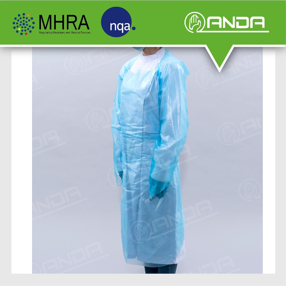 ADG001 CE,ISO support customized medical hospital gown for sale
