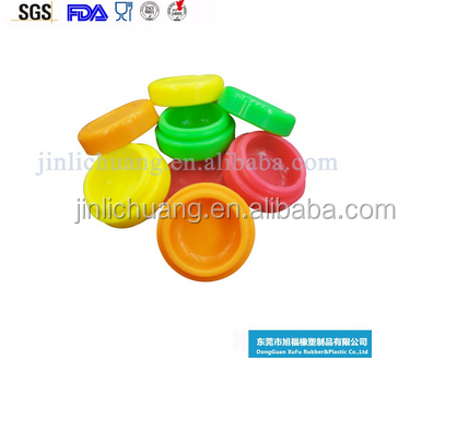Custom Wholesale Mini Cheap bho silicone container storage container,butane hash oil silicone container