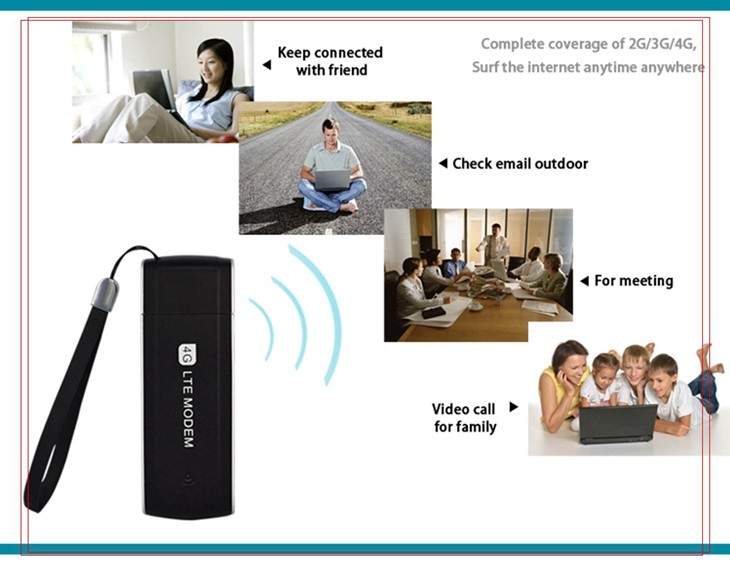 Best 4G USB Dongle Cheap Price Ethernet 100Mbps Modem