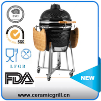 China Barbecue Chicken Flame Grill Machine 21 Inch Brick Pizza Oven